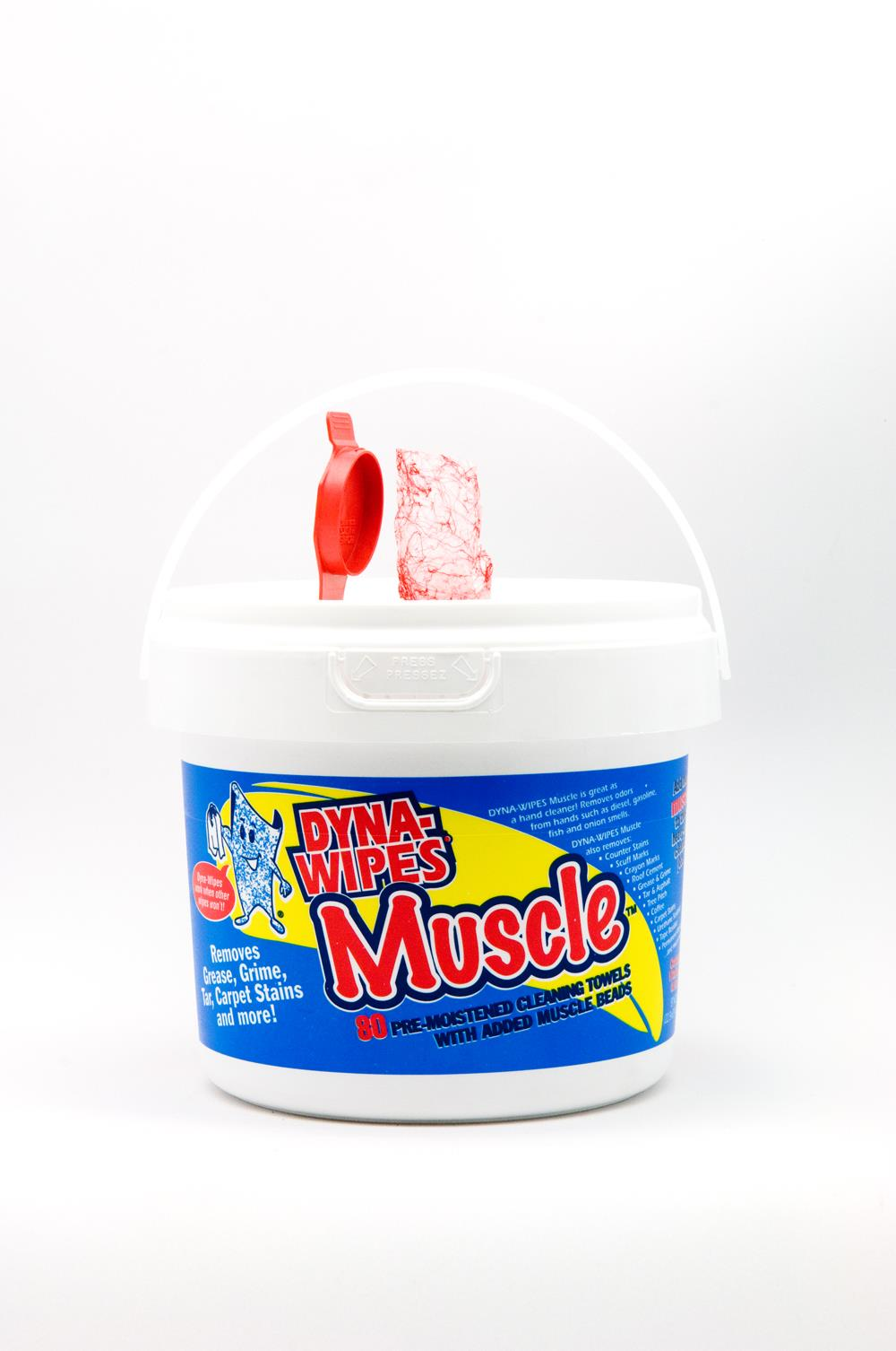 Dyna-Wipes Muscle 80ct
